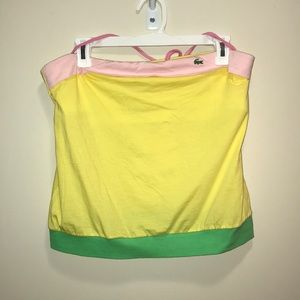 Brand new Lacoste tube top